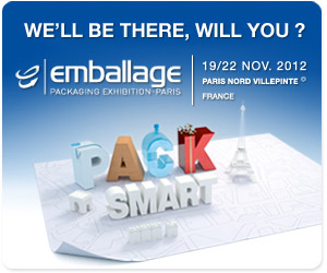 EMBALLAGE,FERIA PACKAGING FRANCIA