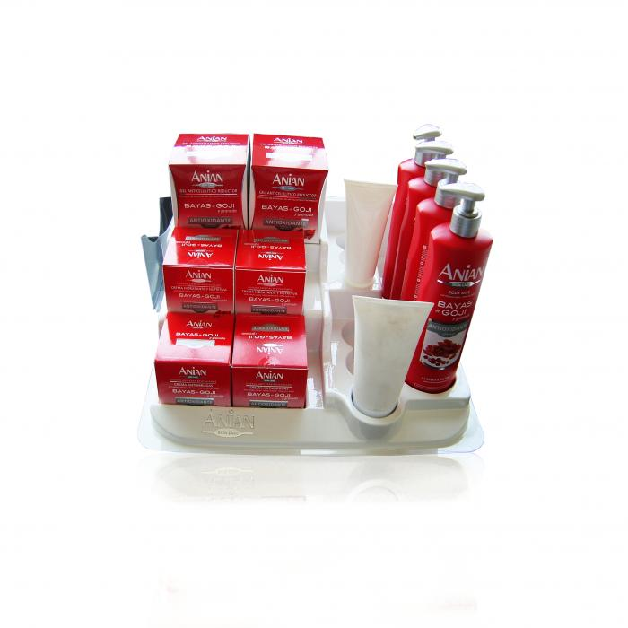 Trays  Displays and Blisters - Exhibitors customized - Exhibitor cosmetics 4