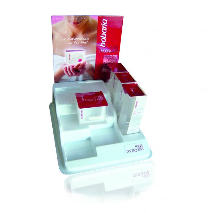 Trays  Displays and Blisters - Exhibitors customized - Exhibitor 9 cosmetics
