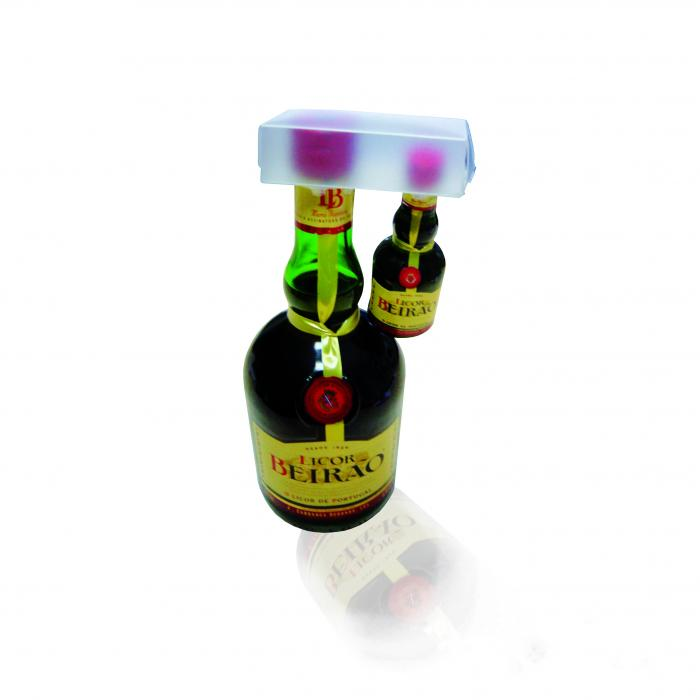 Packaging Sectores - Blisters y Displays Bebidas - blister pack 2 botella 38 cl.